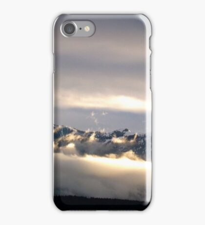 Clouds of the Olympic Mountains iPhone Case/Skin
