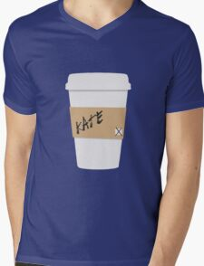 Kate Beckett Coffee Mens V-Neck T-Shirt