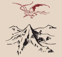 Lonely Mountain - Lighter & Stickers by ladysekishi