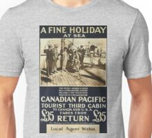 Vintage poster - Canadian Pacific Unisex T-Shirt