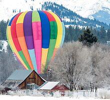 2014 Winthrop Balloon Roundup by Jim Stiles