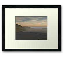 Remote Terrace Framed Print