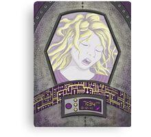 Space Maiden Canvas Print