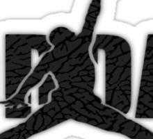 Camo Jordan Sticker