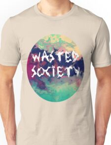 Wasted society - Smokey Unisex T-Shirt
