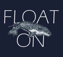 Float on Whale Doodle by inkshirts