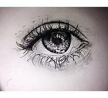 Realistic Eye Photographic Print
