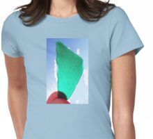 Sea Glass Womens Fitted T-Shirt