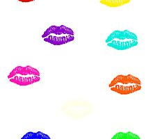 Rainbow Lips by xox-
