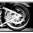 ©HS Motorcycle Wheel IA Monochormatic by OmarHernandez