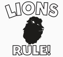Lions Rule One Piece - Short Sleeve