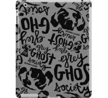 Grey Ghost Society : v2 iPad Case/Skin