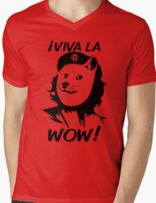 Viva la Wow Mens V-Neck T-Shirt