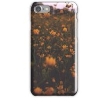 Yellow Floral Case iPhone Case/Skin