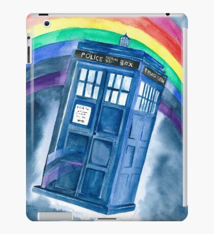 Sci Fi  inspired by The Doctor iPad Case/Skin