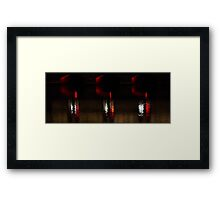 Lost lights Framed Print