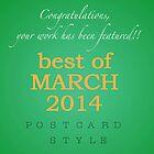 Best of March challenge header by steppeland
