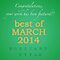 March. 2014 - Best of Featured Postcard Style
