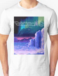 Icy Winter Vaporwave Aesthetics T-Shirt