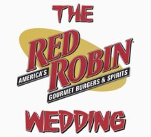 The Red Robin Wedding by HalfFullBottle