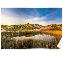 Llangennith Dunes Poster