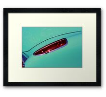 Red light Framed Print