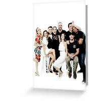Arrow Cast Greeting Card