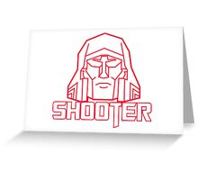 gen 1 shooter Greeting Card