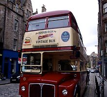 Edinburgh Vintage Bus by James Hanley