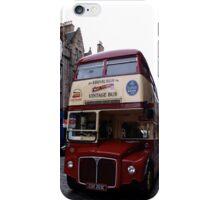 Edinburgh Vintage Bus iPhone Case/Skin