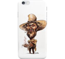 Clint Eastwood spaghetti  iPhone Case/Skin
