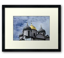 golden dome                                                                                                                                                Framed Print