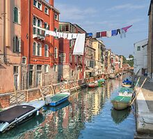 A Canal in Venice by Rod Kashubin