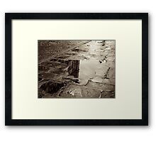 Moody Reflections Framed Print