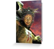 Our Crucified Lord Greeting Card