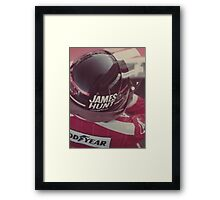 James Hunt Framed Print