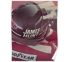 James Hunt Poster