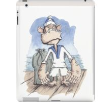 Monkey Sailor iPad Case/Skin