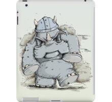 Rumblin' Rhino has a bad Day iPad Case/Skin
