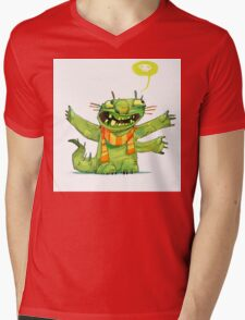 Hugs Mens V-Neck T-Shirt