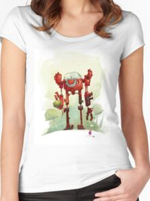 A friend Women's Fitted Scoop T-Shirt
