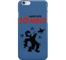 Dancing zombie loses his hand iPhone Case/Skin