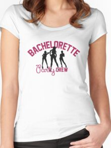 Bachelorette Party Crew Women's Fitted Scoop T-Shirt