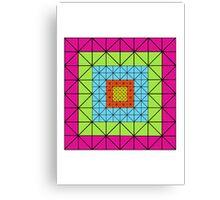 416 TRIANGLES ARTWORK Canvas Print