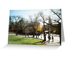 Weekend Afternoon, RISD, Providence Greeting Card
