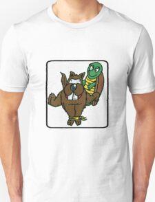 Turtle Vs Beaver T-Shirt