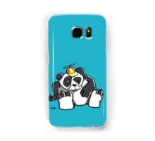 Cute Panda Bear wears a stupid Cap Samsung Galaxy Case/Skin