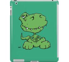 Funny sitting Dinosaur iPad Case/Skin