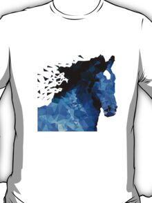 Abstract horse of geometric shape, symbol 2014 T-Shirt