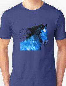 Abstract horse of geometric shape, symbol 2014 Unisex T-Shirt